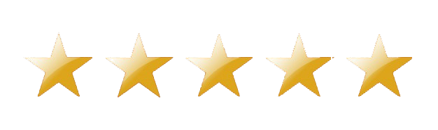 google five star review graphic